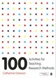 100 Activities For Teaching Research Methods - Dawson, Catherine - ISBN: 9781473946293