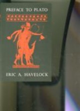 Preface To Plato - Havelock, Eric A. - ISBN: 9780674699069