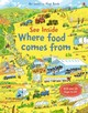 See Inside Where Food Comes From - Bone, Emily - ISBN: 9781409599203