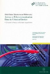 Access to Telecommunication Data in Criminal Justice. - ISBN: 9783428151431