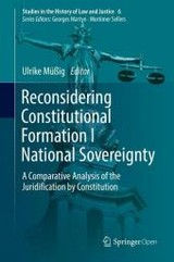 Reconsidering Constitutional Formation I National Sovereignty - ISBN: 9783319424040