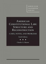 American Constitutional Law - Shanor, Charles A. - ISBN: 9781683280712