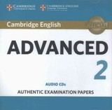 Cambridge English Advanced 2 Audio Cds (2) - ISBN: 9781316504482