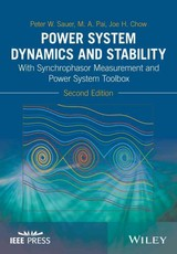 Power System Dynamics And Stability - Chow, Joe H.; Pai, M. A.; Sauer, Peter W. - ISBN: 9781119355779