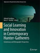 Social Learning And Innovation In Contemporary Hunter-gatherers - Terashima, Hideaki (EDT)/ Hewlett, Barry S. (EDT) - ISBN: 9784431559955