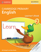 Cambridge Primary English Learner's Book Stage 2 - Ruttle, Kate; Budgell, Gill - ISBN: 9781107685123