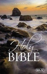 Nkjv, Holy Bible, Larger Print, Paperback - Thomas Nelson - ISBN: 9780718083298