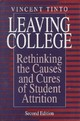 Leaving College - Tinto, Vincent - ISBN: 9780226804491
