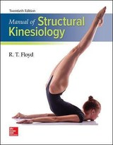 Manual Of Structural Kinesiology - Thompson, Clem W.; Floyd, R. T. - ISBN: 9781259870439