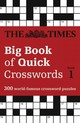 Times Big Book Of Quick Crosswords 1 - The Times Mind Games - ISBN: 9780008195762