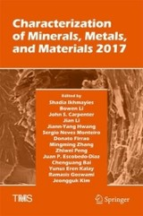 Characterization Of Minerals, Metals, And Materials 2017 - Peng, Zhiwei - ISBN: 9783319513812