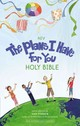 Niv The Plans I Have For You Holy Bible, Hardcover - Parker, Amy (CON)/ Brantley-Newton, Vanessa (ILT) - ISBN: 9780310758822