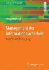 Management Der Informationssicherheit - Sowa, Aleksandra - ISBN: 9783658156268