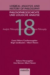 Analytic Philosophy Meets History of Philosophy - ISBN: 9783897851672
