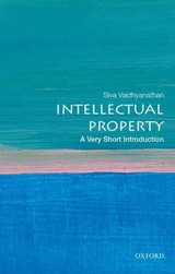Intellectual Property: A Very Short Introduction - Vaidhyanathan, Siva - ISBN: 9780195372779
