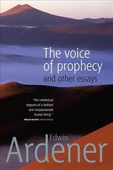 Voice Of Prophecy - Ardener, Edwin - ISBN: 9781785335082