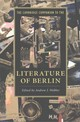 Cambridge Companion To The Literature Of Berlin - Webber, Andrew J. (EDT) - ISBN: 9781107661011
