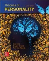 Theories Of Personality - Roberts, Tomi-Ann; Feist, Gregory; Feist, Jess - ISBN: 9780077861926