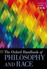 The Oxford Handbook Of Philosophy And Race - Zack, Naomi (EDT) - ISBN: 9780190236953
