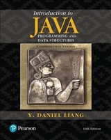 Introduction To Java Programming And Data Structures, Comprehensive Version - Liang, Y. Daniel - ISBN: 9780134670942