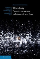 Third-party Countermeasures In International Law - Dawidowicz, Martin - ISBN: 9781107014794
