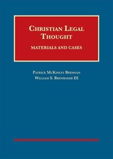 Christian Legal Thought - Brennan, Patrick; Iii, William Brewbaker - ISBN: 9781609302313