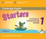 Cambridge English Starters 1 For Revised Exam From 2018 Audio Cd - ISBN: 9781316635971