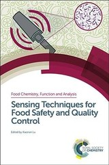 Sensing Techniques For Food Safety And Quality Control - Lu, Xiaonan (EDT) - ISBN: 9781782626640