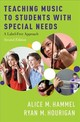 Teaching Music To Students With Special Needs - Hourigan, Ryan; Hammel, Alice - ISBN: 9780190654689