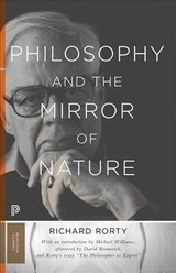 Philosophy And The Mirror Of Nature - Rorty, Richard - ISBN: 9780691178158