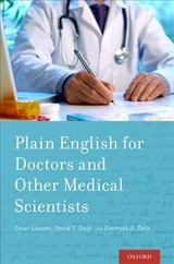 Plain English For Doctors And Other Medical Scientists - Linares, Oscar, M.D./ Daly, David/ Daly, Gertrude - ISBN: 9780190654849