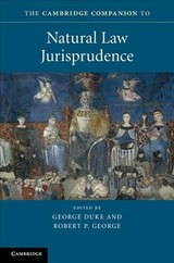 Cambridge Companion To Natural Law Jurisprudence - Duke, George (EDT)/ George, Robert P. (EDT) - ISBN: 9781107120518