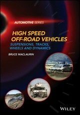 Design Of High Speed Off-road Vehicles - Maclaurin, Bruce - ISBN: 9781119258780