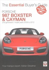 Essential Buyers Guide Porsche 987 Boxster & Cayman - Streather, Adrian - ISBN: 9781787110663