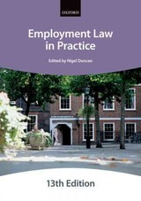 Employment Law In Practice 13e Paperback - The City Law School - ISBN: 9780198787730