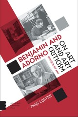 Benjamin and Adorno on art and art criticism - Thijs  Lijster - ISBN: 9789048531059