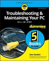 Troubleshooting & Maintaining Your Pc All-in-one For Dummies - Gookin, Dan - ISBN: 9781119378358