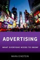 Advertising - Einstein, Mara (professor Of Media Studies, Professor Of Media Studies, Que... - ISBN: 9780190625894