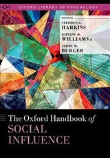 Oxford Handbook Of Social Influence - Harkins, Stephen G. (EDT)/ Williams, Kipling D. (EDT)/ Burger, Jerry M. (EDT) - ISBN: 9780199859870