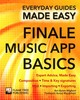 Finale Music App Basics - Wallace, James; Byram-Wigfield, Ben - ISBN: 9781783613953