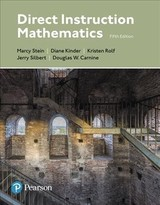 Direct Instruction Mathematics - Stein, Marcy; Kinder, Diane; Silbert, Jerry; Carnine, Douglas W.; Rolf, Kristen - ISBN: 9780134711225