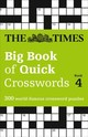Times Big Book Of Quick Crosswords Book 4 - The Times Mind Games - ISBN: 9780008251048