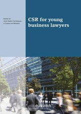 Csr For Young Business Lawyers - Castermans, Alex Geert (EDT)/ van Woensel, Caspar (EDT) - ISBN: 9789462367661