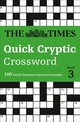 Times Quick Cryptic Crossword Book 3 - The Times Mind Games - ISBN: 9780008241285