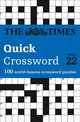 Times Quick Crossword Book 22 - The Times Mind Games - ISBN: 9780008241292