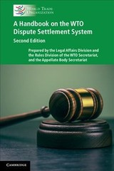 Handbook On The Wto Dispute Settlement System - ISBN: 9781108404853
