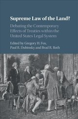 Supreme Law Of The Land? - Fox, Gregory H. (EDT)/ Dubinsky, Paul R. (EDT)/ Roth, Brad R. (EDT) - ISBN: 9781107066601