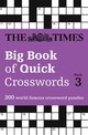 Times Big Book Of Quick Crosswords 3 - The Times Mind Games - ISBN: 9780008195786
