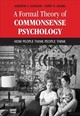 Formal Theory Of Commonsense Psychology - Hobbs, Jerry R. (university Of Southern California); Gordon, Andrew S. (uni... - ISBN: 9781107151000