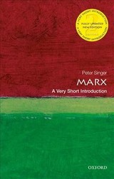 Marx: A Very Short Introduction - Singer, Peter (princeton University) - ISBN: 9780198821076